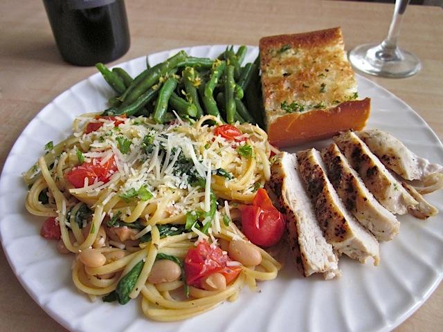 Tuscan Pasta Dinner