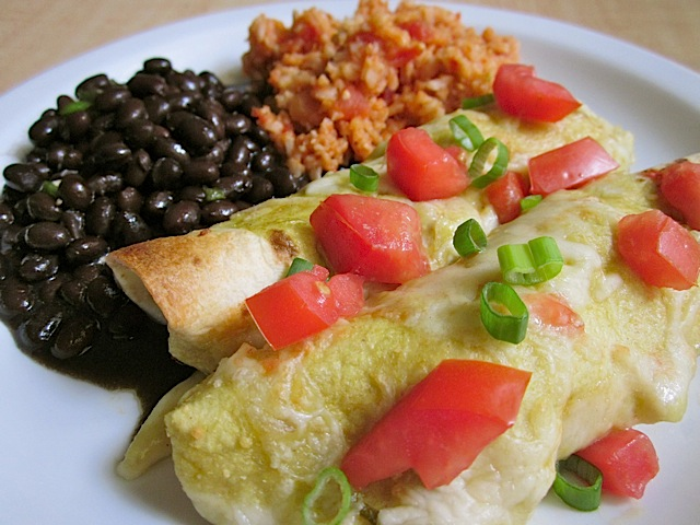 Chicken Enchilada Meal