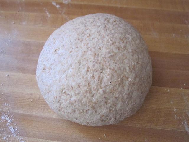 shaped dough ball