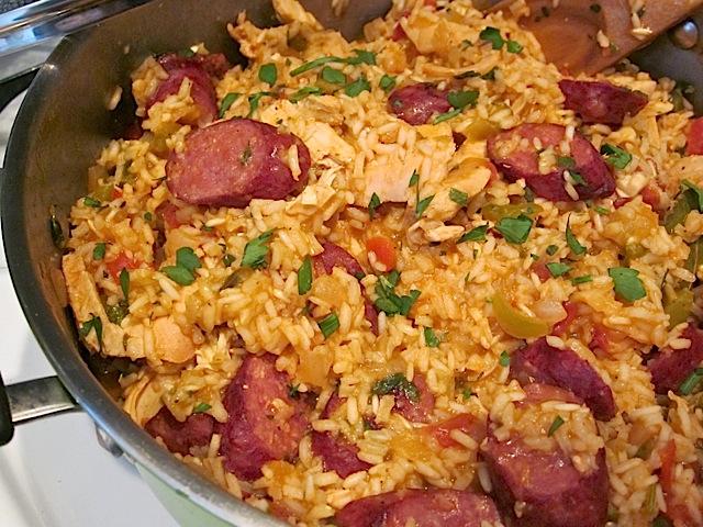 Chicken & Sausage Jambalaya