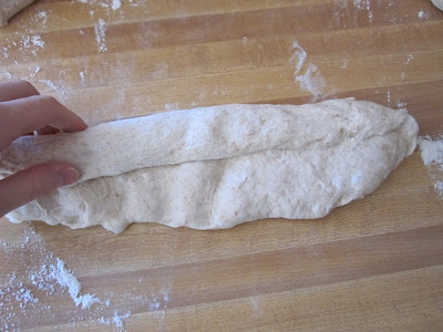 roll shape baguette