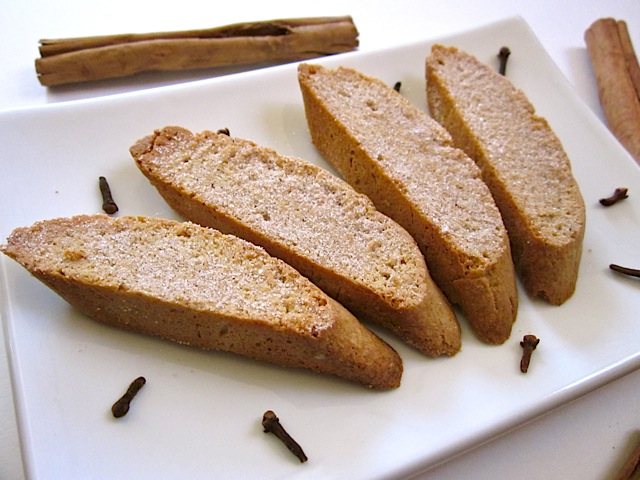 Cinnamon Spice Biscotti