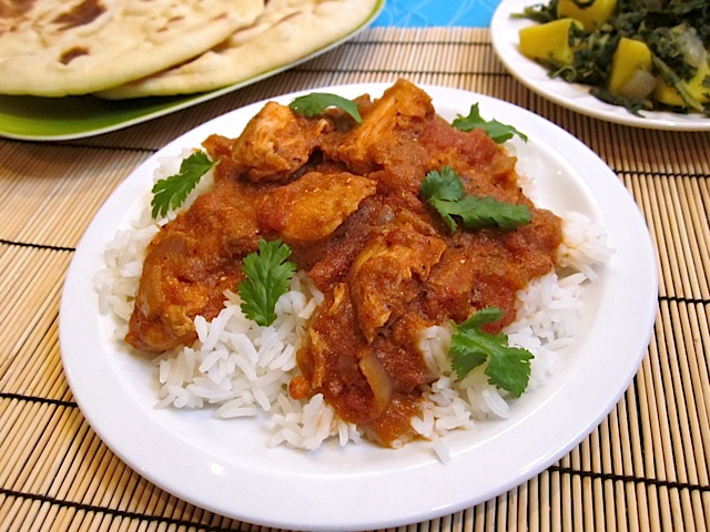 (not) butter chicken Indian