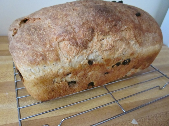 cooling cinnamon raisin bread