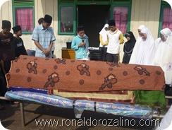 Praktek Fardhu Kifayah Penyelenggaraan Jenazah di SMAN Pintar Kuansing9