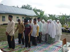 Praktek Fardhu Kifayah Penyelenggaraan Jenazah di SMAN Pintar Kuansing7