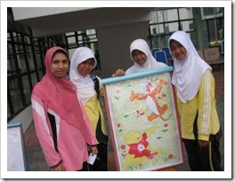 Pameran Karya Seni Rupa III PAKASERU III di SMAN Pintar Kabupaten Kuantan Singingi5
