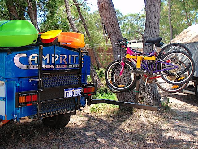 Cool Camper_trailer_bike_rack