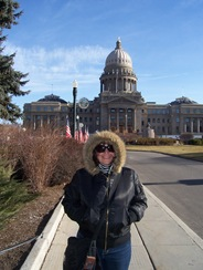 In front of Capitol