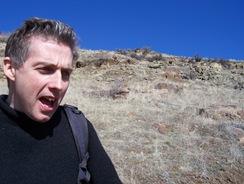 John on Castle Rock trail