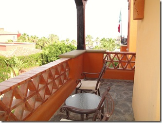 4.  Back patio
