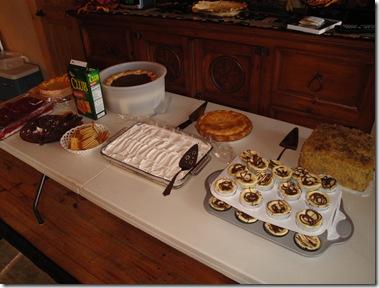 1.  Desserts