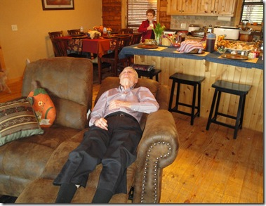 5.  Papaw sleeping