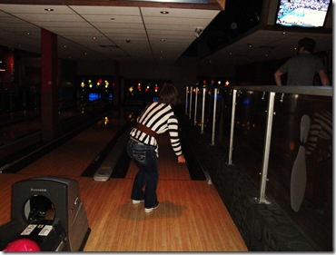 17.  Jessica bowling