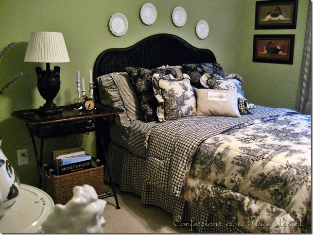 Bedroom Decorating Ideas Totally Toile: CONFESSIONS OF A PLATE ADDICT: Changes In The Toile