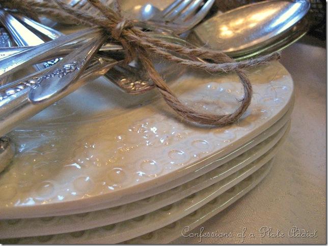 plates w twine