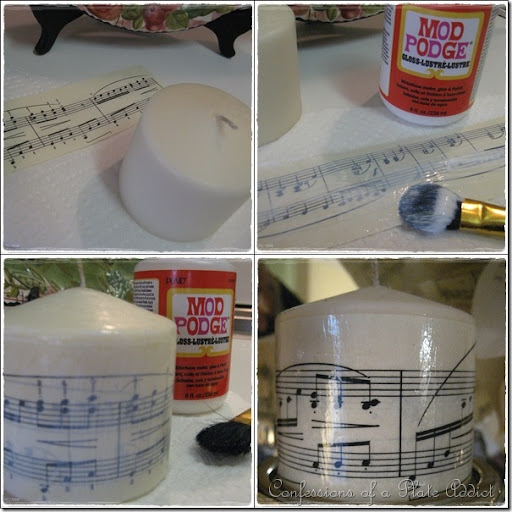 CONFESSIONS OF A PLATE ADDICT Sheet Music Candles And More U2026