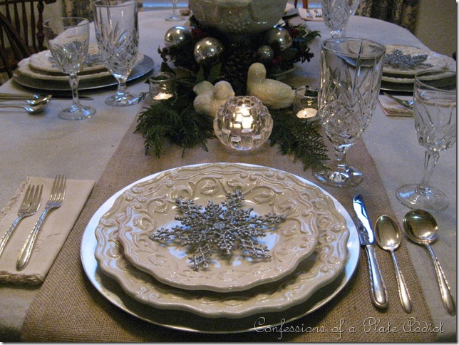 CONFESSIONS OF A PLATE ADDICT: Icicles and Snowflakes with Cream and ...