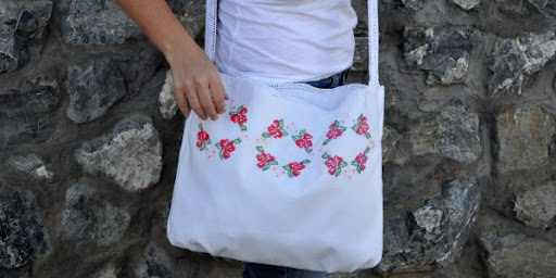 Vintage Pillow Case Bag