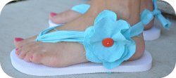 Thumbnail image for Tutorial ~ Key West Flip Flops &#038; Rock The Flop Linky