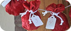 Thumbnail image for Tutorial ~ Miniature Santa Sack Advent Calendar