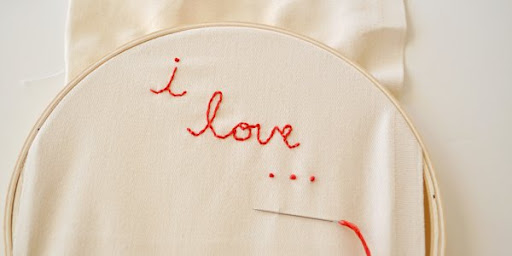 I love Embroidery