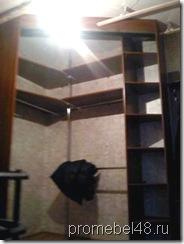 угловой шкаф купе с джокерной стойкой