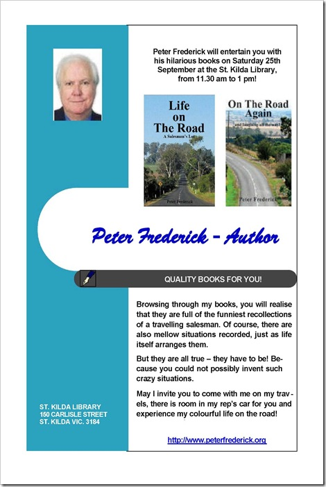 PETER FREDERICK'S INVITATION 3