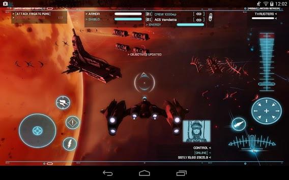 Strike Suit Zero apk screenshot