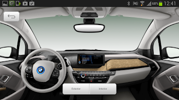 Screenshot of BMW i App