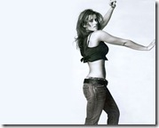 Nelly Furtado Jeans Desktop Wallpaper - 1280x1024