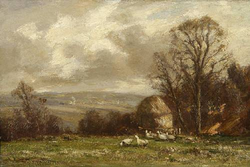 Near Lisnagunagh, Co. Antrim, Ireland by W. Thornton