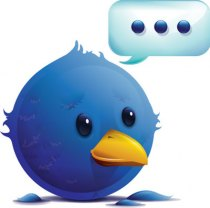 Twitter pensativo