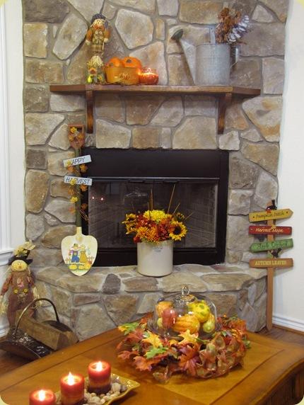 autumn mantel fantel