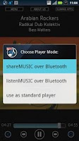 Screenshot of Bluetooth Music Player