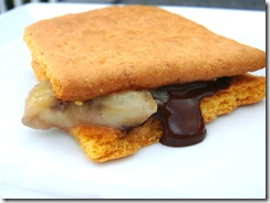 Banana Smore closeup
