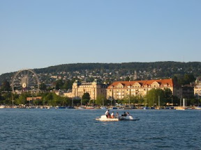 Jump in Lake Zurich. People do that.