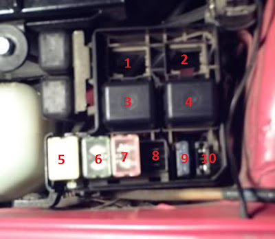 main fuse block fuse boxes Wiring-Diagram 1995 Geo Metro at bayanpartner.co