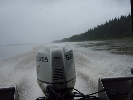 surrounding physical geography of yukon river