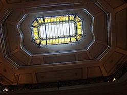 Detalhe do teto do CCBB. Clique para ampliar