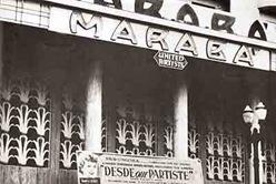 Fachada antiga do Cine Marabá