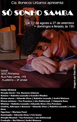 CARTAZ Só Sonho Samba (2)