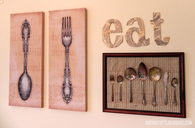 kitchen wall display