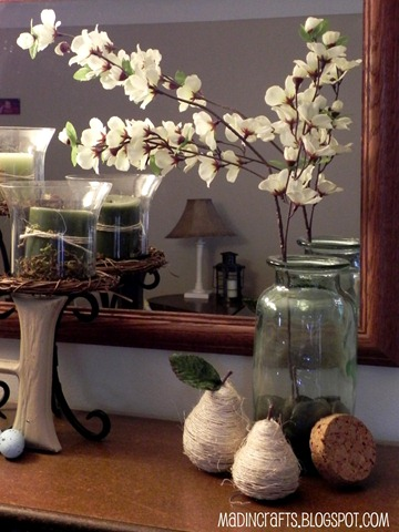 flowering pear decor