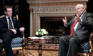 戈尔巴乔夫80岁生日获得俄最高荣誉勋章
