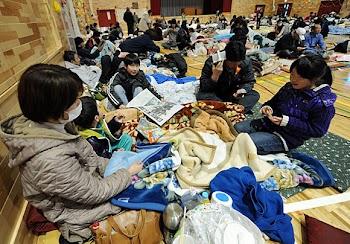 大地震也无法撼动日本礼节