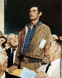 美国历史画卷自由篇名作赏析之二:言论自由