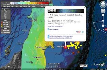 日本地震震级数值的变化