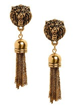 Modcloth I Aint Lion Earrings ShoesNBooze