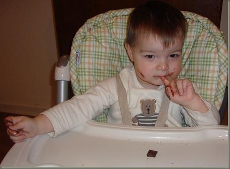 Chocolate baby
